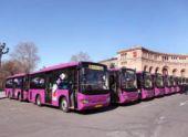 В Ереване бастовали водители автобусов