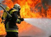 Подземный пожар тушили в Ереване