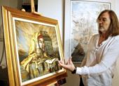 Во Владикавказе откроется выставка Никаса Сафронова
