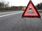 В Армении автомобиль скатился в овраг