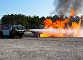 Во Владикавказе загорелся легковой автомобиль