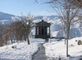 Снег выпал в высокогорных областях Армении