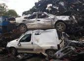В Армении кладбища старых автомобилей отравляют окружающую среду