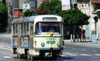 Во Владикавказе столкнулись трамвай и легковой автомобиль