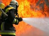 В Ереване вспыхнул пожар на территории хладокомбината