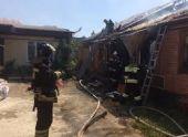 Во Владикавказе на пожаре погиб 50-летний мужчина